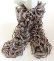 Gray Can Can Scarf