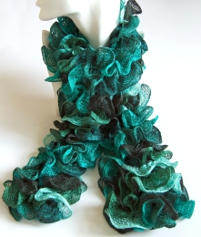 Green Can Can Scarf