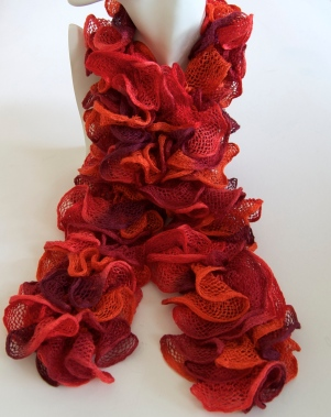 Orange Can Can Scarf