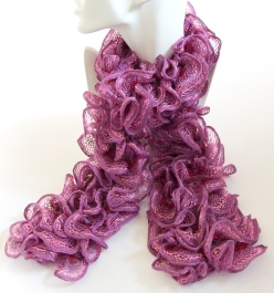 Purple & Pink Can Can Scarf