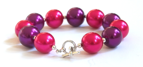 Pink&PurplePearlBracelet3