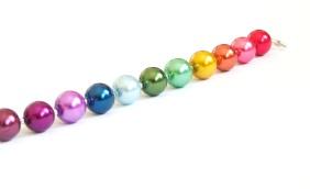 RainbowPearlBracelet