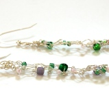 SilverKnittedEarrings2