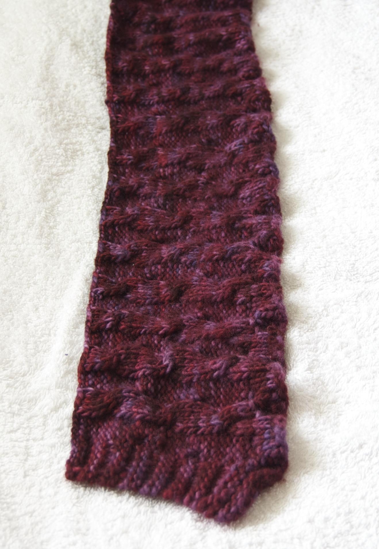 Reddit Knitting Blocking : Tutorial blocking a knitted scarf emmadickiedesign
