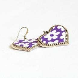 PurpleHeartFrameEarrings1