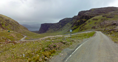 Courtesy of Google Maps - A street view of the pass